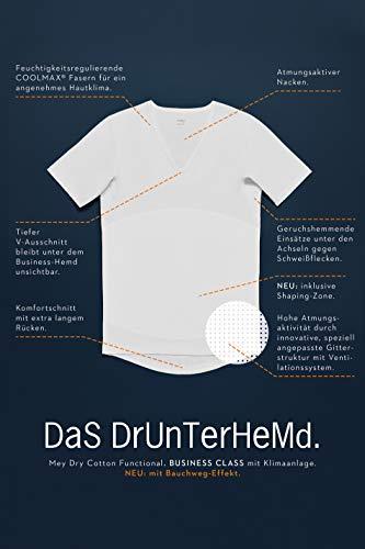 Mey Basics Serie Dry Cotton Herren Shirts 1/2 Arm Weiß 8 -