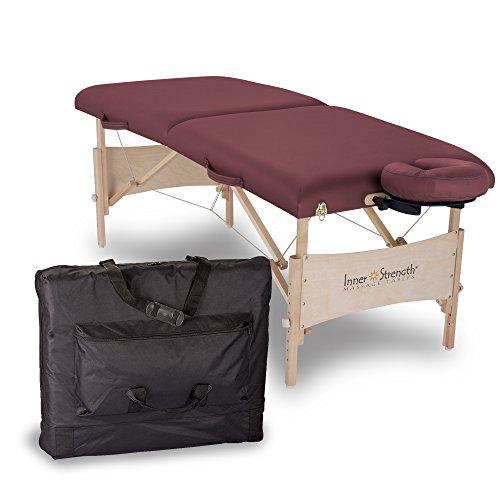 nt Mobile Massageliege - Klappbar, Standard Endplatten inkl. Kopfstütze und Tragetasche  by EARTHLITE (Earthlite Massage-kopfstütze)
