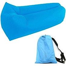 GuDoQi Sofá Inflable de 210D Nylon Portátil Camas de Aire Impermeable Sofá Sofá Cama Para Viajar