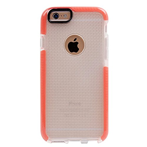 BING Für iPhone 6 Plus / 6s Plus, Knit Texture TPU Schutzhülle BING ( Color : Dark Blue ) Orange