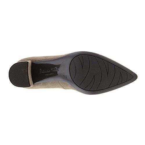 Paula Alonso Chaussures en Cuir fendus Beige