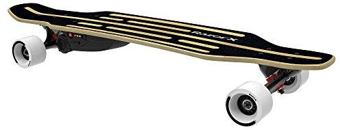 Razor Kinder Electric X1 Rasiermesser Elektrisch Longboard, schwarz, L
