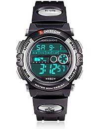 Socico Niños Digital Relojes para Niños Niñas Deportes–5 ATM Reloj Deportivo Impermeable al Aire