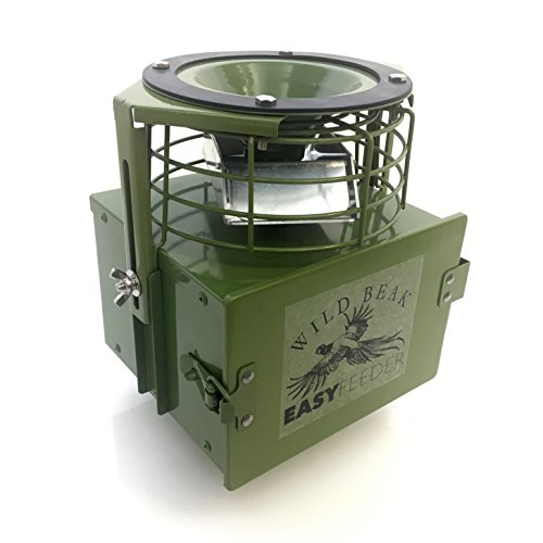 6 volt Automatic Game / Poultry / Livestock feeder plus solar panel