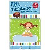 8 Tischkarten Pippi Langstrumpf