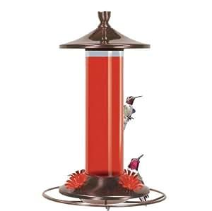 Birdscapes 710Metall gebürstet ML GLAS Kolibri Feeder (Ältere Modell)