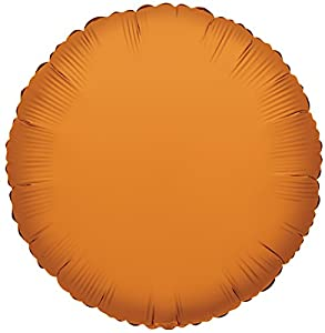 Suki Gifts Redondo Globo Ballongas Naranja Naranja