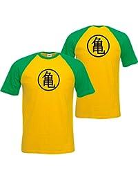 Gokus Training Symbol T-shirt Homme Dragon Ball Master