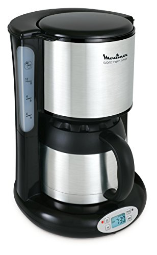 Moulinex FT3628 Thermo-digitaler Timer Kaffeemaschine Subito, 4 Programme, Isolierkanne, 0,9 L,...