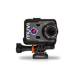 Veho VCC-006-K2NPNG Muvi K Serie Action Cam in Custodia Impermeabile, Wi-Fi, Nero