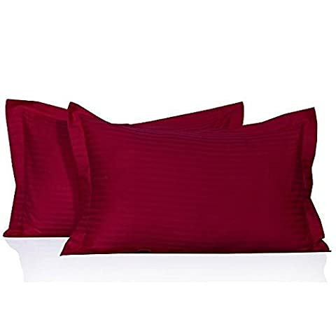 Dreamz Betten 400thread-count Super Weiche Baumwolle Kissen Fällen, hot pink, Travel (Hot Pink Thread)