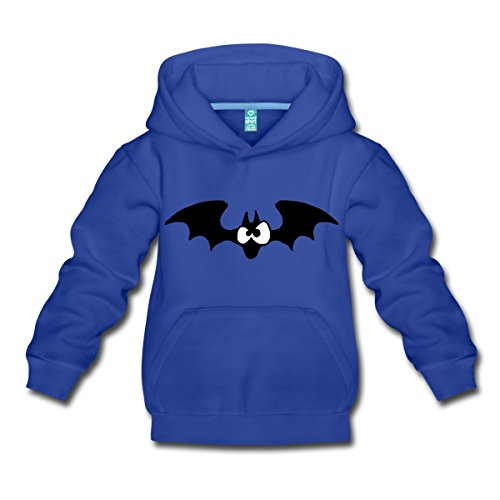 Lustige Comic Fledermaus Kinder Premium Hoodie von Spreadshirt®, 152/164 (12-14 Jahre), (Kostüme Haloween Lustige)