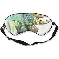 Watercolor Chameleon 99% Eyeshade Blinders Sleeping Eye Patch Eye Mask Blindfold For Travel Insomnia Meditation preisvergleich bei billige-tabletten.eu