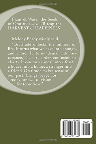 Gratitude Journal - Daily Record of your Thankful Thoughts: Helps you to focus on the good in your life (Blank Books by Cover Creations)