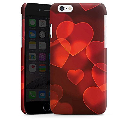 Apple iPhone 5 Housse étui coque protection C½ur affaibli Motif Motif Cas Premium brillant