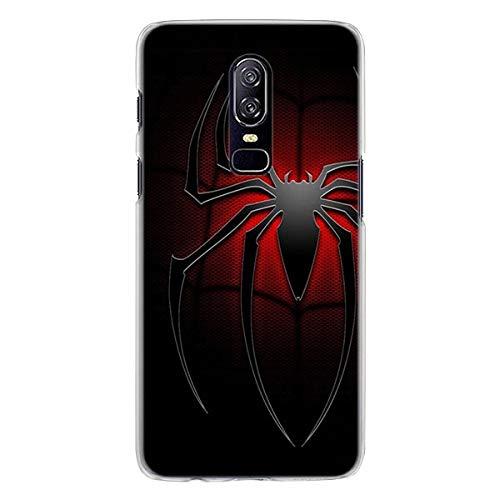 OnePlus 6T. Coque Venom VS Spiderman Hard PC Coque arrière pour OnePlus 6T. 7
