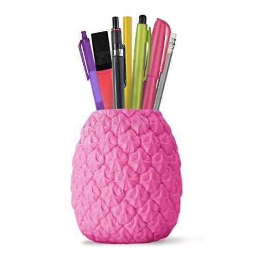 MUSTARD - Tropical Desktop Organizer I Schreibtisch Stiftebehälter I Organisieren I...