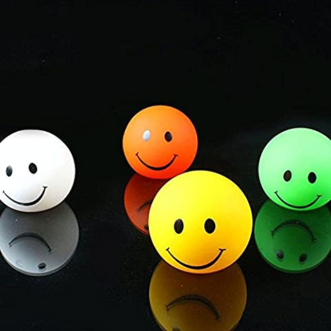Gladle Mini Cute 7 Color Changing Round Smile Face LED Night Light Lamp Great Gift For Kids Party