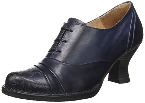 Neosens Rococo 845, Cheville Chaussures Lacées Femme Bleu (Midnight)