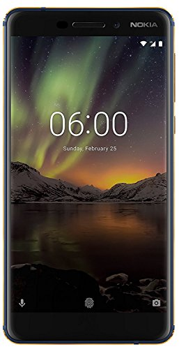 Nokia 6.1 (2018) (Blue-Gold, 3GB RAM, 32GB Storage)