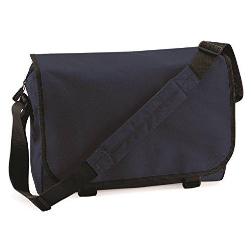 Messenger bag BagBase francese Navy