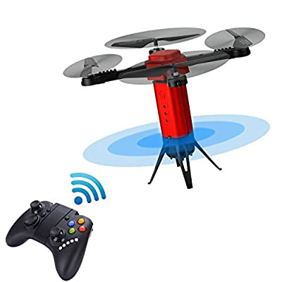 Joso Mini Drone, Headless Model Remote Control 4CH 6Axis Gyro Quadcopter for Aerial Photography Altitude Hold & Auto Return Kids Toys Christmas Children Gift (Included Camera)