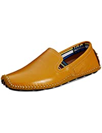 eaf71cae8e965 Amazon.co.uk  Yellow - Loafer Flats   Men s Shoes  Shoes   Bags