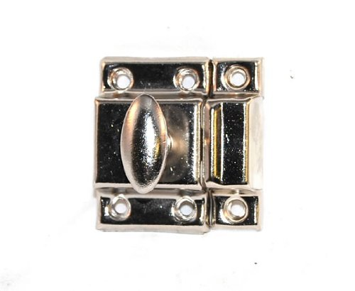 Nickel-plated Hardware (Spring Turn Cabinet & Cupboard Latch-Nickel Plated by Ultra Hardware)