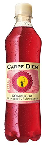 Carpe Diem – Kombucha Cranberry Fresh – 12 st