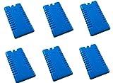 iapyx® 6 Stück Kühlakkus Kühlelemente ( 12h Akkus ) iceblocks freeze packs für Kühltasche Kühlbox , iapyx® (6 Stück)