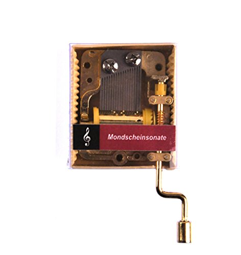 Ludwig van Beethoven - Moonlight Sonata (Mondscheinsonate) - Handcrank Music Box Moonlight Music Box