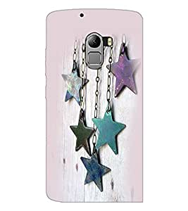 PrintDhaba Stars D-2382 Back Case Cover for LENOVO K4 NOTE A7010 (Multi-Coloured)