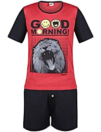 Pomm'poire - Pyjama court Good Morning by Smiley - Homme