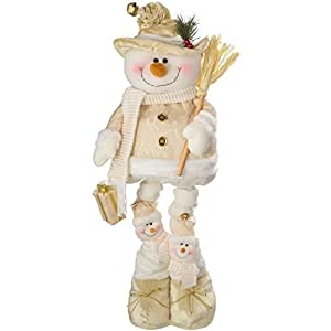 Werchristmas d coration de no l poser bonhomme de neige for Decoration de noel amazon