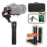 Feiyu A1000 Gimbal für DSLR / Mirrorless Kameras, Feiyutech Gimbal Stabilisator 3-Achsen-Unterstützung, Zeitraffer-Fotografie, abnehmbare Dual-Griff, Sony A7-Serie, GH4, GH5 für Canon 5D und andere Kameras, einschließlich Case & 32 GB SD-Karte