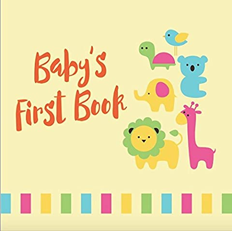 Tiny Angel Baby Memory Book of Firsts ~ Gender Neutral Keepsake Journal for Boys & Girls ~ 46 Pages Record Book ~ Envelopes included ~ Perfect Babyshower Gift ~ Hand and footprint