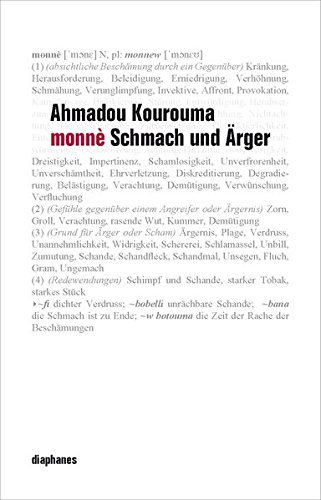 Monnè: Schmach und Ärger (Literatur)
