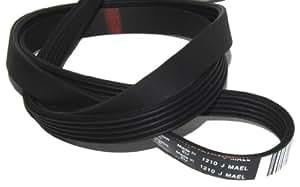 Candy/Hoover Top Loader Machine à laver DRUM Drive Belt, Taille 1210J5MAEL équivalent, tem, El, t107s UE hnt2135, 80, hnt5146, 1AAA, hnt6414hnt5146