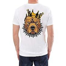 ZODOF Camisetas de Manga Corta de Corte Estándar Hombre Top Hombres Blusa Camiseta de Color Liso