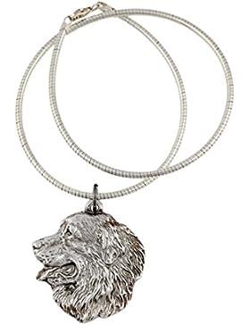 NEU, Berner Sennenhund, Hundehalskette, Silberschnur 925, limitierte Auflage, ArtDog