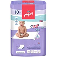 Bella Baby Happy Wickelunterlagen 90 x 60 cm, 4er Pack (4 x 10 Stück)