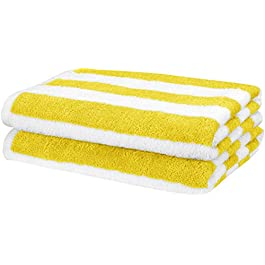 AmazonBasics Towel, 100% Cotone, Blu Navy, Confezione da 1