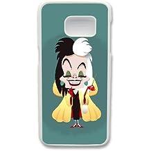 Generic Cell Phone Case for Funda samsung Galaxy S7 White Cruella de Vil 101 Dalmatians U2W2VC