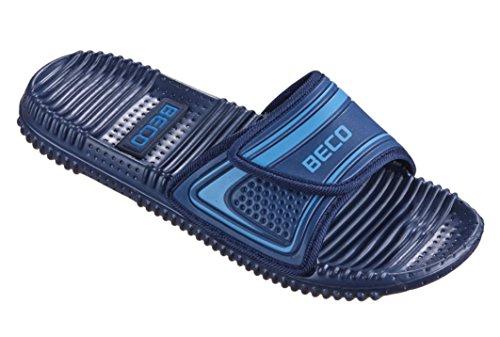 Beco Unisex Slipper marine/Blau