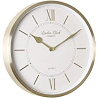 London Clock 1922 - Heritage - Sophia - Champagne Gold Wall Clock