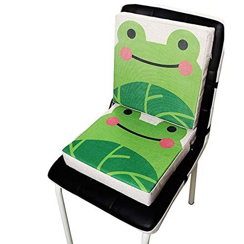 der Stuhl Booster Sitzmatte, Kleinkind Infant Esszimmer Stuhl Booster Kissen, Tragbare Reise Pad Abnehmbare Abdeckung ()