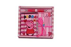 Toys Market S.R.L Diario C/Letras Peppa Pig, Multicolor, 828195