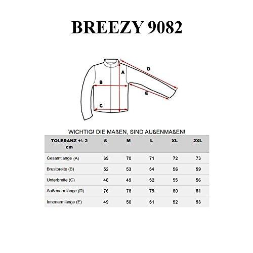 BOLF Herren Sweatshirt Langarmshirt Pullover Longsleeve Classic Mix 1A1 Motiv Schwarz_9082