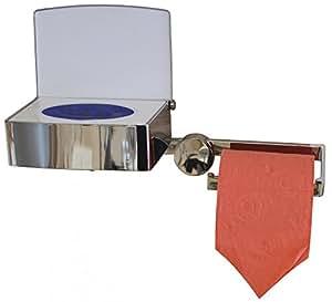 nicol feuchtpapierbox papierrollenhalter ohne bohren edelstahl rostfrei k che. Black Bedroom Furniture Sets. Home Design Ideas