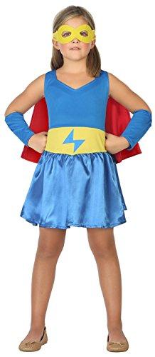 ATOSA 39479 Supergirl, Kostüm, girls, 128